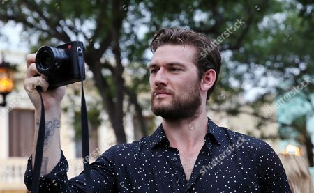 British Actor and Model Alex Pettyfer Attends the Fashion Show of French Fashion House Chanel in Havana Cuba 03 May 2016 Chanel Held Its First Catwalk in Latin America Cuba Havana