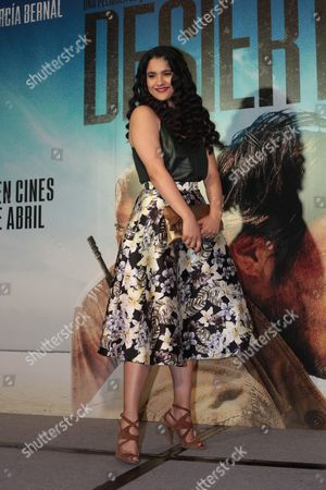 Mexican Actress Alondra Hidalgo Poses During the Photocall For the Movie 'Desierto' in Mexico City Mexico 09 April 2016 Desierto was First Released on 13 September 2015 at the Toronto International Film Festival Mexico Mexico City