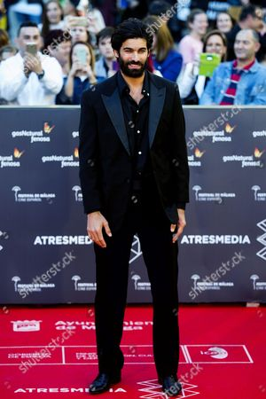 Spanish Actor Ruben Cortada Poses During the Premier of the Movie 'Toro (bull)' at the 19th Malaga Film Festival in Malaga Spain 22 April 2016 the Film Festival Runs From 22 April to 01 May Spain Mßlaga