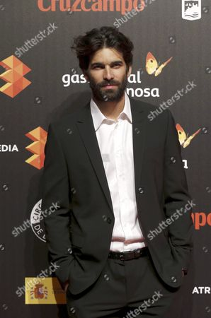 Cuban Actor Ruben Cortada Arrives For the Presentation of the Malaga Film Festival at Circulo De Bellas Artes Cultural Center in Madrid Spain 06 April 2016 the Festival Will Run From 22 April to 01 May Spain Madrid