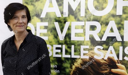 French Film Director Catherine Corsini Poses During the Photocall of Her Latest Movie 'A Summer Love' in Madrid Spain 29 June 2016 the Film Will Premiere on 01 July Spain Madrid