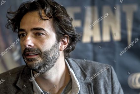 Stock Image of Spanish Filmmaker Gonzalo Lopez-gallego Poses During the Presentation of His New Movie 'The Hollow Point' at the 22nd Bilbao Fantasy Film Festival 'Fant 2016' in Bilbao Spain 06 May 2016 Fant 2016 Runs From 06 to 13 May Spain Bilbao