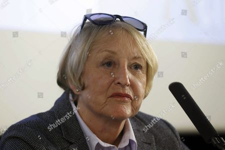British-born Spanish Costume Designer Yvonne Blake Attends a Press Conference to Announce Blake As the New President of the Spanish Film and Arts Academy in Madrid Spain 15 October 2016 Spain Madrid