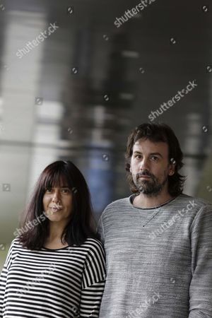 Spanish Filmmakers Isaki Lacuesta (r) and Isa Campo (l) Pose For Photographers During the Presentation of Their Film 'La Propera Pell' (lit the Next Skin) As Part of the 49th Sitges International Fantastic Film Festival in Sitges Catalonia Northeastern Spain 09 October 2016 the Movie Will Be Screened in the Section Noves Visions - Especials of the Festival Running From 07 to 16 October 2016 Spain Sitges