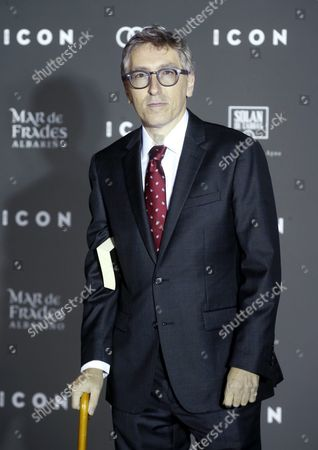 Spanish Film Director David Trueba Poses For the Media at His Arrival to the Icon Awards in Madrid Spain on 13 October 2016 Trueba Will Receive the Icon Untaggable Award Spain Madrid