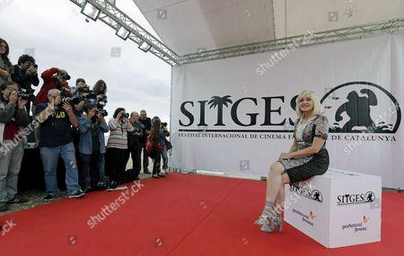 Us Actress/cast Member Barbara Crampton Poses For Photos During the Presentation of the Film 'Beyond the Gates' at the 49th Sitges International Fantastic Film Festival in Sitges Catalonia Northeastern Spain 09 October 2016 the Festival Runs From 07 to 16 October Spain Sitges