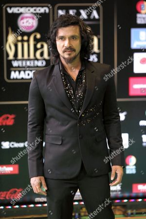 Stock Photo of Indian Actor Darshan Kumaar Poses For Photographers Upon His Arrival at the 17th International Indian Film Academy Awards (iifa) Ceremony in Madrid Spain 25 June 2016 the Iifa Awards Are Also Known As Bollywood's Oscars Spain Madrid