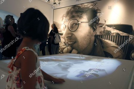 A Little Girl Visits the Santa Isabel House where the Beatles' Leader John Lennon Wrote the Song 'Strawberry Fields Forever' During Events to Mark the 50th Anniversary of the Lennon Visit to Almeria Southern Spain 09 October 2016 Fifty Years Ago Lennon Celebrated His 26th Birthday in Almeria on 09 October 1966 While Shooting the Richard Lester Film 'How i Won the War' He Composed the Song While He was Staying at Santa Isabel House Spain Almeria