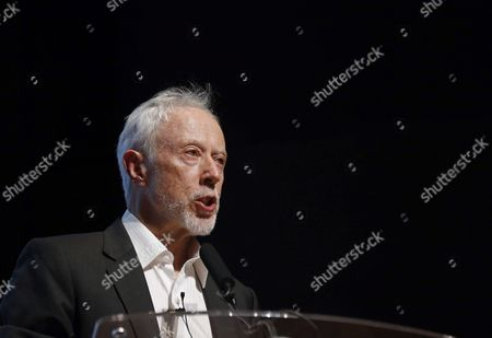 South African Novelist and 2003 Nobel Prize in Literature John Maxwell Coetzee Gives a Lecture at the Reina Sofia Museum in Madrid Spain 30 June 2016 Spain Madrid