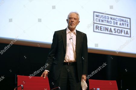 South African Novelist and 2003 Nobel Prize in Literature John Maxwell Coetzee Takes Sit Prior to Pronounce a Lecture at the Reina Sofia Museum in Madrid Spain 30 June 2016 Spain Madrid