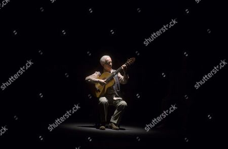 Spanish Flamenco Guitarist Paco Pena Performs During the Show 'Patrias' (fatherlands) As Part of the Cordoba Guitar Festival in Cordoba Spain 03 July 2016 (issued 04 July) the Cordoba Guitar Festival Runs From 01 to 16 July Spain Cordoba