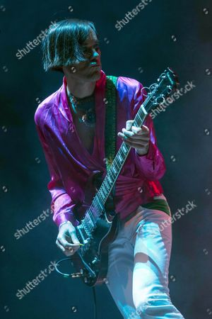 Us Guitarist Kevin Barnes Frontman of the Us Band of Montreal Performs on Stage at the Estrella De Levante Sos 4 8 Music Festival in Murcia Spain 07 May 2016 Spain Murcia