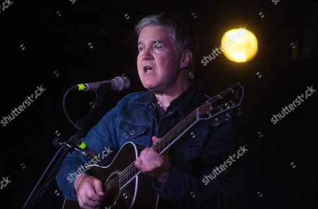 British Singer and Musician Lloyd Cole Perfoms on Stage During Concert Celebrated at Loco Club Valencia Spain 25 September Spain Valencia