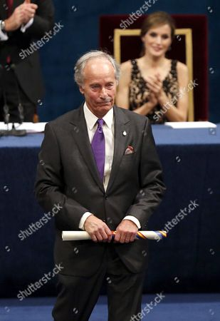 Us Wirter Richard Ford After Receiving the Princess of Asturias Award of Letters During the 36th Edition of the Princess of Asturias Awards Handover Ceremony at the Campoamor Theatre in Oviedo Province of Asturias Spain 21 October 2016 Spain Oviedo