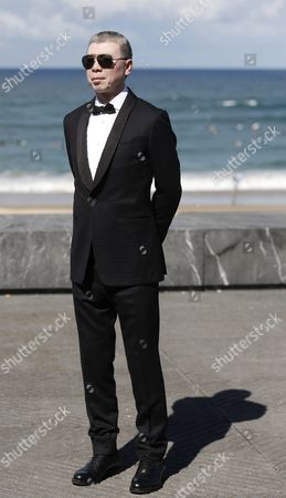 Chinese Film Director Feng Xiaogang Poses During the Photocall of the Film 'I Am not Madame Bovary' During the 64th Edition of the San Sebastian International Film Festival in San Sebastian Northern Spain 18 September 2016 the Festival Runs From 16 to 24 September 2016 Spain San Sebastian