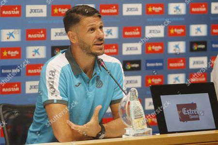 Argentinian Defender Martin Demichelis Speaks at a News Conference During His Presentation As New Player For Spanish Team Rcd Espanyol in Cornella Barcelona Northeastern Spain 11 August 2016 the Player From Manchester City Signed One Season Contract with the Primera Division Team Spain Cornella