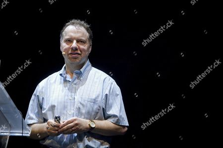 Stock Photo of Us Astrophysicist at Johns Hopkins University Adam Riess During the Opening Ceremony of the 3rd Starmus Festival in Arona Canary Islands Southwestern Spain 27 June 2016 the Festival That Takes Place in Tenerife and La Palma Islands Pays Tribute to British Theoretical Physicist and Cosmologist Stephen Hawking who is Considered to Be As the Greatest Scientist of All Time Spain Arona