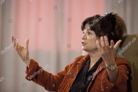 Us Planetary Scientist and Imaging Team Leader of the Cassidi Mission to Saturn Carolyn Porco Reacts During a Press Conference Held on the Occassion of Her Participation in the 3rd Starmus Festival in Adeje Tenerife Canary Islands Spain 28 June 2016 the Starmus Festival 2016 Will Be the Venue For Experts From Astronomy Art and Music From 27 June to 02 July with the Aim of Making Universal Science and Art Accesible to the Public Spain Adeje