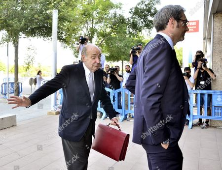 Miquel Roca Lawyer of Spain's Princess Cristina Arrives to Attend a Session of the Trial at the Balearic Academy of Public Administration (ebap) in the So-called Noos Corruption Case in Palma De Mallorca Balearic Islands Spain 10 June 2016 in the 55th Session Conclusions on the Noos Trial Will Be Given by the Six Plaintiffs the Offenses Will Be Described to Each of the Six Defendants As Well As the Sentences Demanded For Each of Them Princess Cristina Stands Trial on Charges of Alleged Collaboration in a Tax Fraud Offence Together with Her Husband who is Accused of Embezzling Over Six Million Euros in Public Funds Through a Charity the Noos Institute Which He Ran From 2004 to 2006 Spain Palma De Mallorca