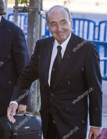 Miquel Roca Princess Cristina De Borbon's Lawyer Smiles Upon His Arrrival to Attend the Last Session of the Trial of Noos Case in Palma De Mallorca Majorca Island Eastern Spain 22 June 2016 Princess Cristina and 16 Other Defendants Are Attending the Presentation of the Final Reports by Three Defending Counsels and the Defendants Will Able to Speak For Last Time Before the Trial is Ready For Sentencing Spain Palma De Mallorca