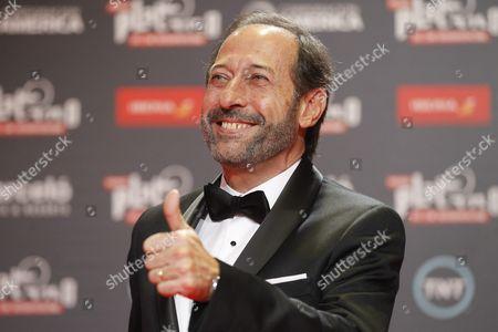 Argentinian Actor Guillermo Francella Arrives to the Red Carpet of Platino Ibero-american Film Awards in Punta Del Este Uruguay 24 July 2016 Uruguay Punta Del Este