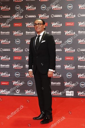 Host of the Ceremony Mexican Television Show Host and Comedian Adal Ramones Arrives to the Red Carpet of Platino Ibero-american Film Awards in Punta Del Este Uruguay 24 July 2016 Uruguay Punta Del Este