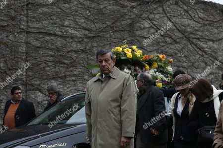 Stock Image of Uruguayan Foreign Relations Minister Rodolfo Nin Novoa (c) Attends the Funeral of Late Uruguayan Defense Minister Eleuterio Fernandez Huidobro in Montevideo Uruguay 05 August 2016 Huidoro 74 was the Defense Minister of Uruguay Since 2011 During the Governments of Jose Mujica and Tabare Vazquez Uruguay Montevideo