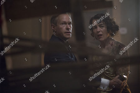 'The Halcyon' (Ep 8): Olivia Williams as Lady Hamilton and Steven MacKintosh as Richard