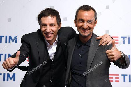 Ubaldo Pantani and Nicola Savino