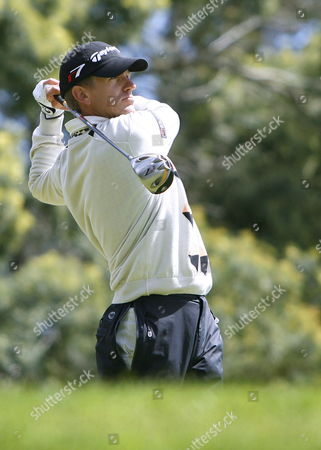 Christian Cevaer of France in Action During the Third Round of the Golf Madeira Island Open 2007 Saturday 24 March 2007 in Santo Da Serra Madeira Island Portugal Portugal Funchal