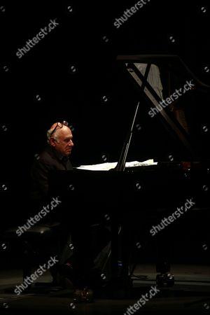 English Composer and Pianist Michael Nyman Performs Live in Concert at Casa Da Musica in Porto Portugal 11 May 2016 Portugal Porto