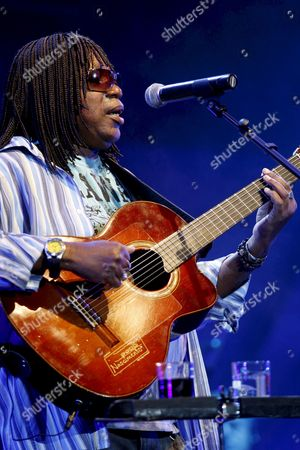 Brazilian Musician Milton Nascimento Performs During His Concert at Casa Da Musica in Porto Northern Portugal 15 July 2008 Nascimento who was Born in Rio De Janeiro is a Self-taught Grammy Award-winning Singer Songwriter and Guitarist and is Considered an Icon of Brazilian Music Portugal Porto