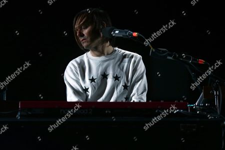 French Musician Jean-benoit Dunckel From the Musical Duo Air Performs at the Primavera Sound Festival in Porto Portugal 11 June 2016 the Festival Will Run From 9 to 11 June Portugal Porto