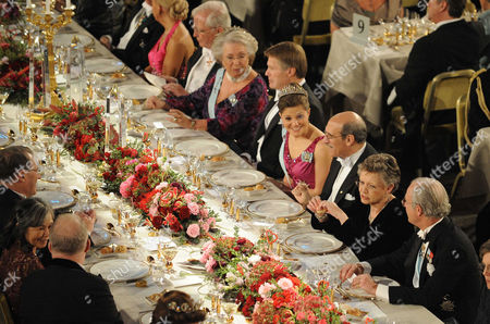 Editorial picture of Nobel Prize 2008, Royal Dinner, Stockholm, Sweden - 10 Dec 2008