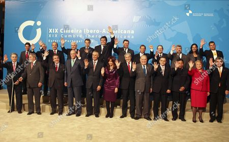 Editorial picture of Portugal Ibero American Summit - Nov 2009