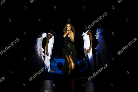 Stock Image of Brazilian Singer Daniela Mercury Performs During a Concert at Coliseu Dos Recreios in Lisbon Portugal 05 April 2013 Portugal Lisbon
