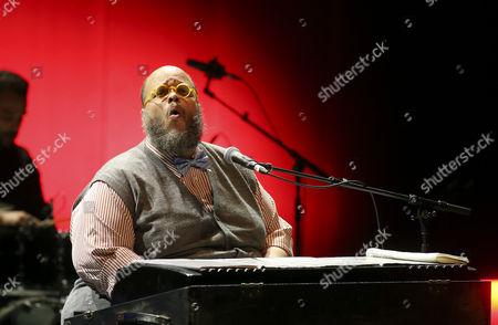 Stock Picture of Brazilian Musician Ed Motta Performs During a Concert at Casa Da Musica in Porto Portugal 22 October 2014 Portugal Porto