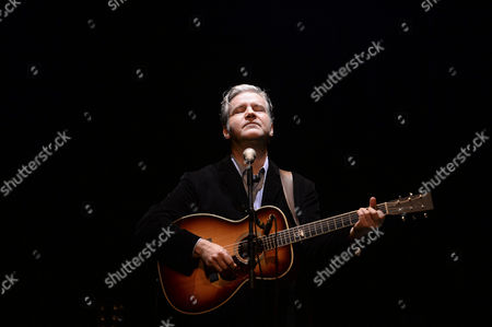 British Singer and Songwriter Lloyd Cole Performs a Live Concert at Theatre Circo in Braga Portugal 30 April 2014 Portugal Braga