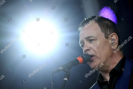 Stock Picture of Vocalist of Uk Indie Pop Band Cinerama David Gedge Performs at Primavera Sound Festival in Porto Portugal 04 June 2015 Primavera Sound Festival Runs Until 10 June Portugal Porto