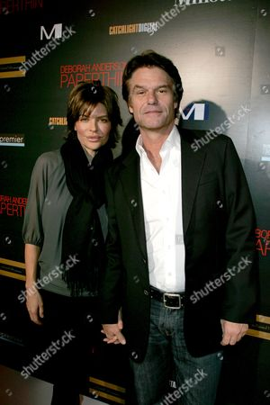 Lisa Rinna and Harry Hamlin