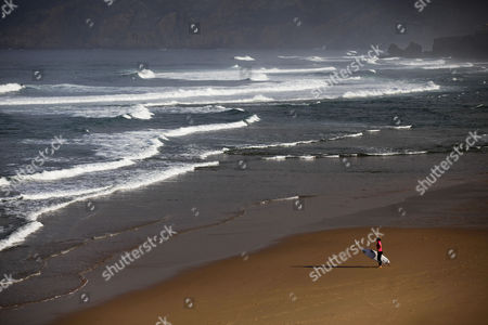 Editorial photo of Portugal Surfing - Oct 2013