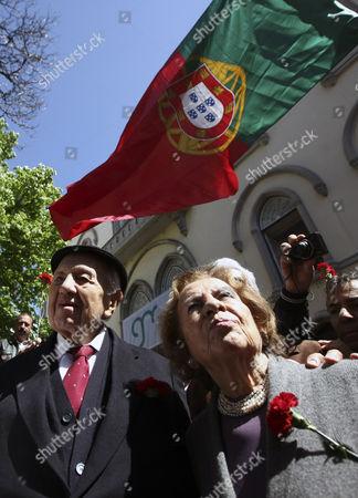 Editorial picture of Portugal 40th Anniversary 25 April Revolution - Apr 2014