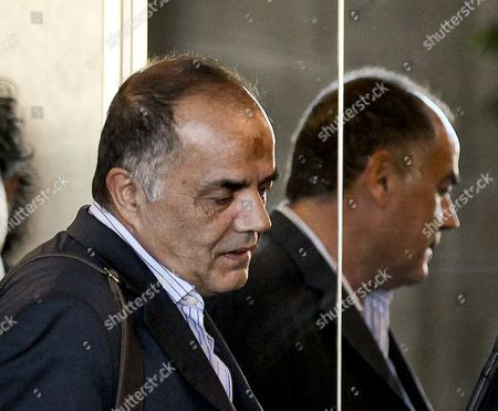 The Former Portuguese Police Chief Goncalo Amaral Arrives at the Courthouse For the Trial in Which He is Accused of Libel by the British Couple Gerry and Kate Mccann (not Pictured) the Parents of the Disappeared British Child Madeleine at Lisbon's Palace of Justice in Lisbon Portugal 8 July 2014 Portugal Lisbon