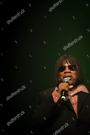 Stock Photo of Brazilian Singer and Composer Milton Nascimento Performs During This Evening Concert at Coliseu Dos Recreios to Celebrate His 50 Years Career Lisbon Portugal 26 October 2013 Portugal Lisboa