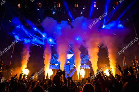Dutch Dj Hardwell Performs on Stage During the Sudoeste Festival 2014 in Odemira Portugal Late 07 August 2014 the Festival Runs From 06 to 10 August Portugal Odemira