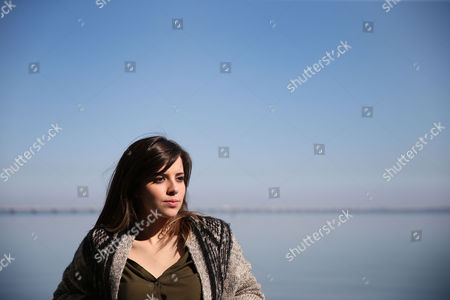 Portuguese Singer Leonor Andrade Poses in Lisbon Portugal 09 March 2015 the 20-year-old Won the National Music Contest with the Song 'There is a Sea That Separates Us' and Will Represent Portugal in the 2015 Eurovision Song Contest in Vienna on 23 May Portugal Lisbon