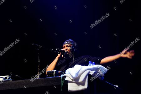 Vincent Mason of Us Hip Hop Trio 'De La Soul' Performs During a Concert at Super Rock Festival in Lisbon Portugal 16 July 2016 the Festival Runs From 14 - 16 July 2016 Portugal Lisbon