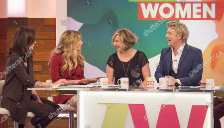 Stock Picture of Andrea McLean, Stacey Solomon, Lesley Garrett and Jonathan Ansell