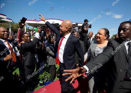 Editorial photo of New President, Port-au-Prince, Haiti - 07 Feb 2017