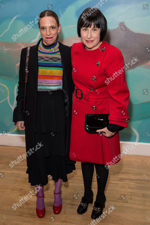 Editorial picture of 'David Hockney' exhibition opening reception, Tate Britain, London, UK - 07 Feb 2017